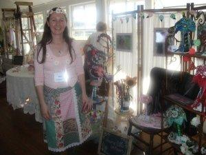 Me at the bridal fair.